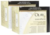 Olay Total Effects Lathering Cleansing Cloths - 30 ct - 2 pk