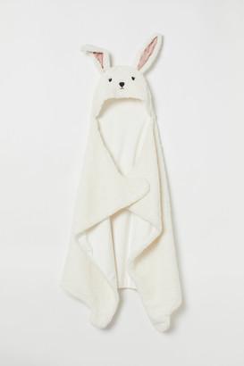 H&M Hooded pile blanket
