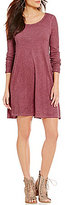 Billabong Same Day Open-Back Knit T-Shirt Dress