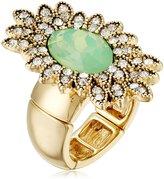 Jessica Simpson Stone Rhodium Ring, Size 7