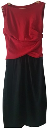 Moschino Cheap & Chic Moschino Cheap And Chic Red Cotton - elasthane Dress for Women