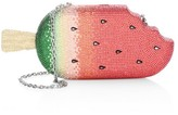 Judith Leiber Couture Watermelon Popsicle Crystal Clutch
