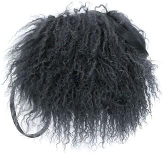 P.A.R.O.S.H. Fur Trim Clutch Bag