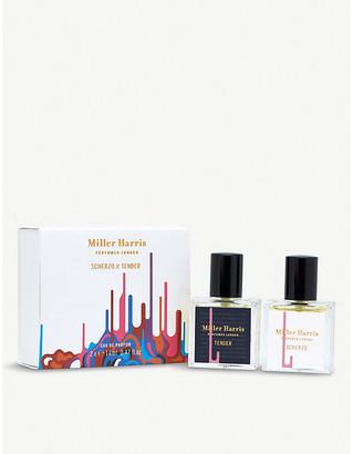 Miller Harris Scherzo x Tender eau de parfum set of two