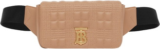 Burberry Lola Quilted Leather Belt Bag