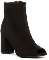 Mia Utility Peep-Toe Boot