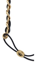 Juicy Couture Leather & Chain Headband