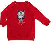 Mayoral Padded Owl Dress, Size 3-7