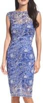Tadashi Shoji Petite Women's Lace Sheath Dress