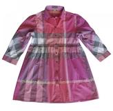 Burberry Pink Cotton Dress