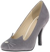 T.U.K. Women's Sophisticated Cat Bombshell Heel Slide Pump