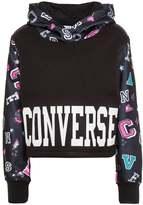 Converse CROPPED Hoodie black
