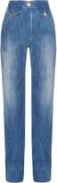 Etoile Isabel Marant Odessa high-rise flared jeans