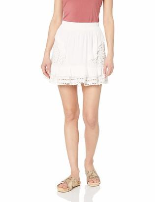 Ramy Brook Women's BRIT Eyelet Mini Skirt