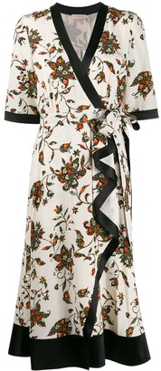 Tory Burch wrap floral dress