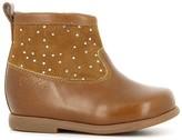 Pom D'Api Polka Dot Leather Zip Nioupi Boots