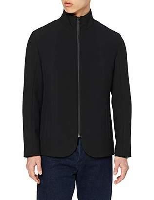 HUGO Men's Janno-logo1921 Jacket, (Black 001), (Size: 46)