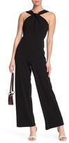 Scuba Knit Sleeveless Jumpsuit