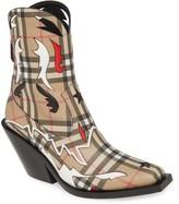 Burberry Matlock E-Canvas Cowboy Boot