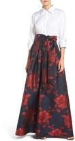 Eliza J Women's Mock Two-Piece Gown