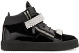 Giuseppe Zanotti embellished straps sneakers