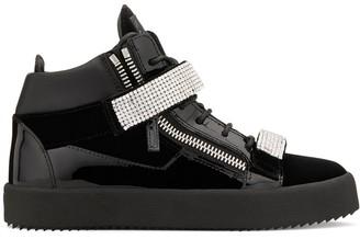 Giuseppe Zanotti embellished straps sneakers