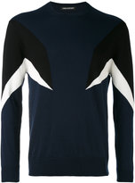 Neil Barrett colour-block sweatshirt