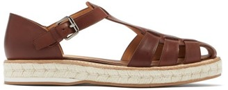 Church's Rosemary Leather Espadrille Sandals - Tan
