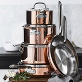 Williams-Sonoma Williams Sonoma Professional Copper 10-Piece Cookware Set