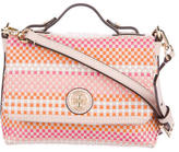 Tory Burch Jane Woven Leather Crossbody