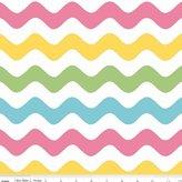 Quilting Fabric - Wave Basics C41503 - Riley Blake - Per Yard