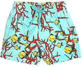 Vilebrequin Fishes & Coral Printed Nylon Swim Shorts