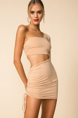 superdown One Shoulder Cut Out Dress