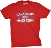 Crazy Dog T-shirts Crazy Dog Thirt Men Canadian Are EH Mazing Funny Canada Pride Thirt