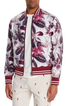 Brooklyn Brigade Men's Slim-Fit Lilia Reversible Bomber Jacket