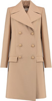 Chloé Double-breasted wool-crepe coat
