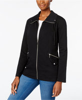 Karen Scott Knit Active Jacket, Only at Macy's
