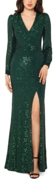 Xscape Evenings Sequined Gown