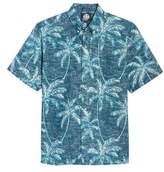 Reyn Spooner Men's Palm Seas Classic Fit Sport Shirt