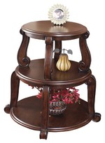 Ashley Brookfield End Table - Dark Brown - Signature Design®