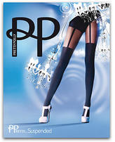 Pretty Polly Garter Tights