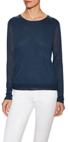 Inhabit Cotton Double Layer Sweater