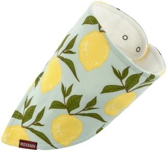 Milkbarn Organic Kerchief Bib - Lemon