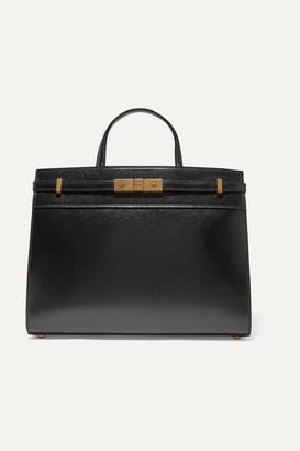 Saint Laurent Manhattan Small Leather Tote - Black