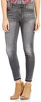 Lucky Brand Bridgette Skinny Raw Edge Hem Jeans