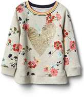 Gap Embellished graphic pullover tunic
