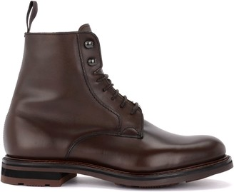 Church's Churchs Wootton Ankle Boot In Fine Brown Calf Leather