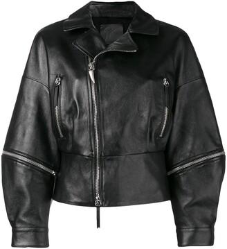 Giuseppe Zanotti Autumn biker jacket