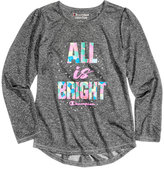 Champion All Is Bright Graphic-Print T-Shirt, Toddler & Little Girls (2T-6X)
