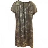 Marc Cain Grey Silk Dress for Women